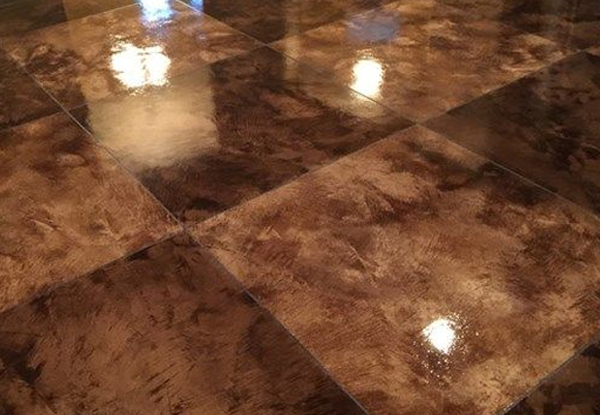 United General System Concrete Stain Flooring